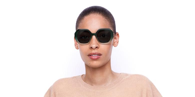 Óculos de sol senhora FAURA GR verde/preto