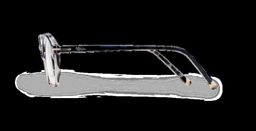 Óculos graduados homem MORBIER azul cinzento - Vista lateral ... 7177d5d753
