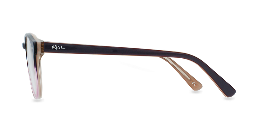 Óculos graduados criança LIV PU (TCHIN-TCHIN +1€) violeta - Vista lateral