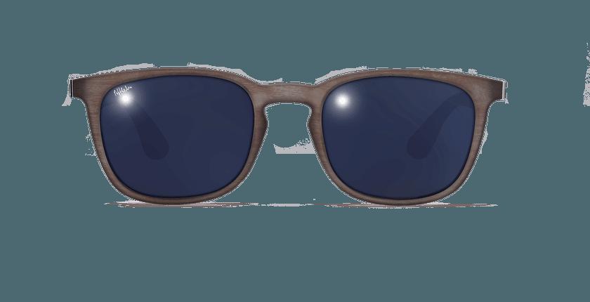 Gafas de sol hombre BRINDISI POLARIZED marrón - vista de frente