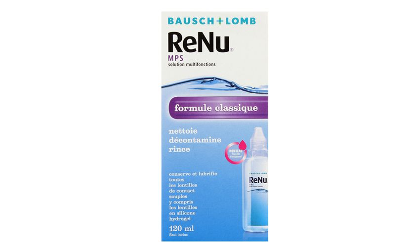 ReNu MPS 120ml - vue de face
