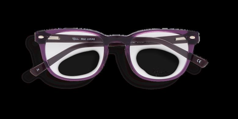 Lunettes de vue homme LUCAS violet