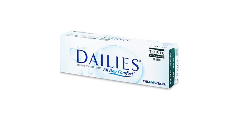Lentes de contacto Dailies All Day Comfort Toric 30L