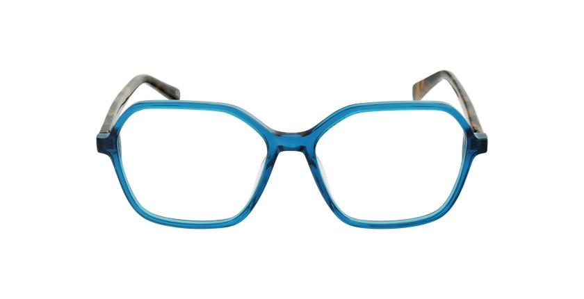 Óculos graduados senhora GARANCE GR (TCHIN-TCHIN +1€) verde - Vista de frente