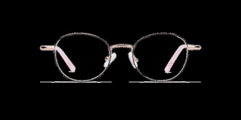 Lunettes de vue femme NELIA noir/rose