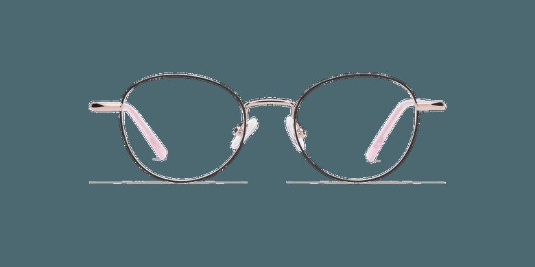 Óculos graduados senhora NELIA BK (TCHIN-TCHIN +1€) preto/rosa