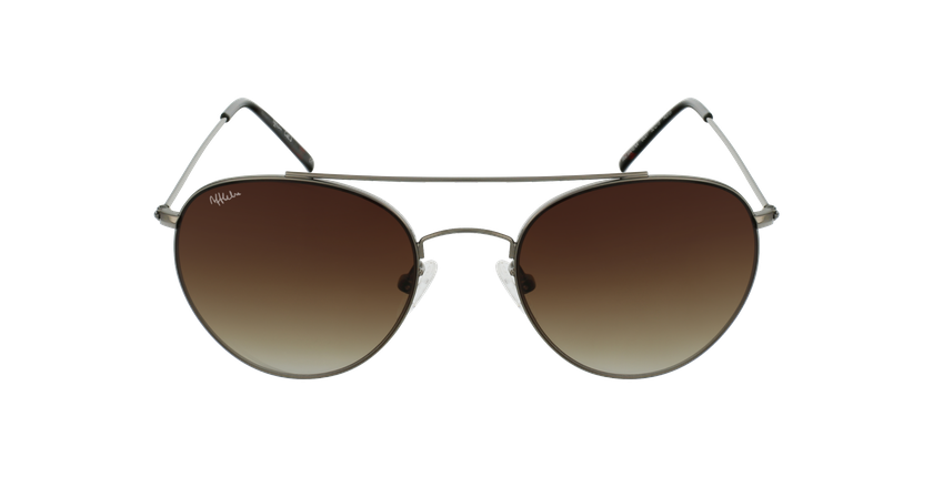 Óculos de sol MARENA GU metalizado - Vista de frente