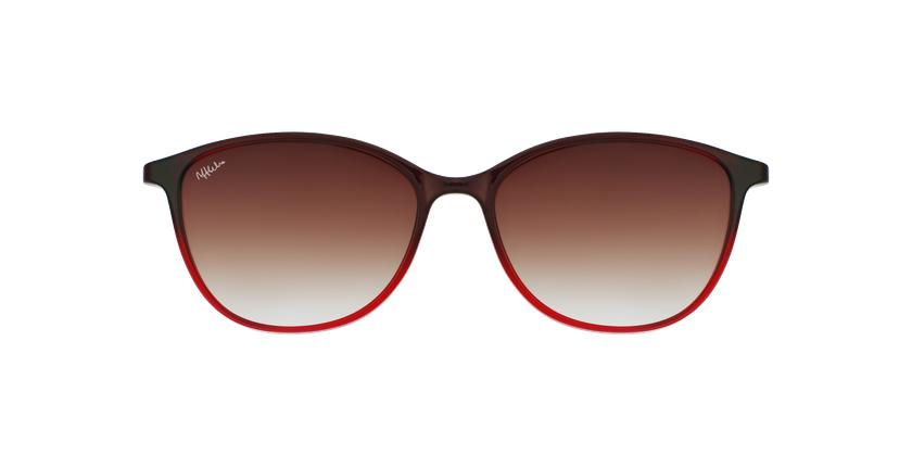 Óculos graduados senhora MAGIC 69 BK preto/dourado - Vista de frente