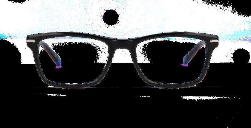 Lunettes de vue homme REGENT noir - Vue de face