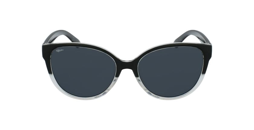 Óculos de sol criança IVANA BK preto - Vista de frente