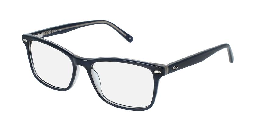 Óculos graduados homem LUBIN BL (TCHIN-TCHIN +1€) azul - vue de 3/4