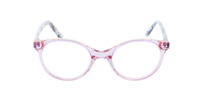 Lunettes de vue enfant ELIANA violet/roseVue de face