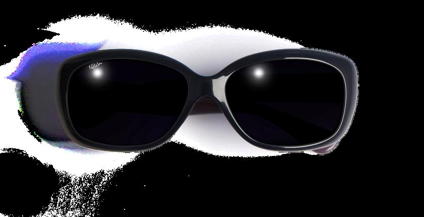 Lunettes de soleil femme AMANDA bleu - vue de face