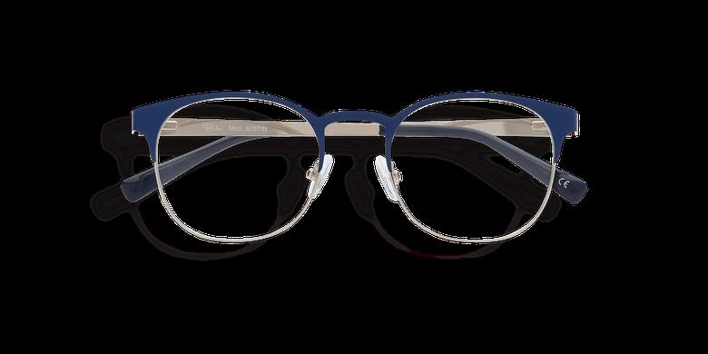 Óculos graduados homem JUSTIN - AZUL (Tchin-Tchin +1€) azul/prateado