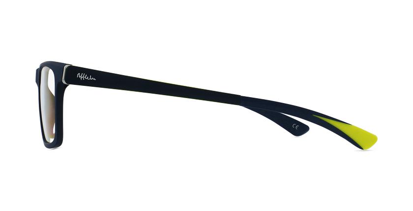 Óculos graduados criança MAGIC 64 BL azul/amarelo - Vista lateral