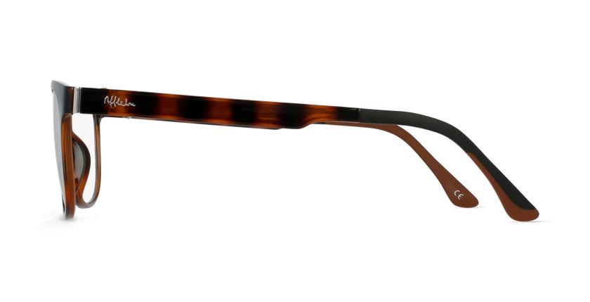 Óculos graduados homem MAGIC 33 TO BLUEBLOCK - BLOQUEIO LUZ AZUL tartaruga  - Vista lateral