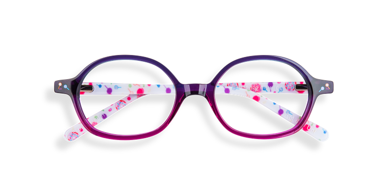 8c1b6f09e Óculos graduados criança FLUFFY1 VIOLETA violeta Óculos graduados criança  FLUFFY1 ROSA rosa