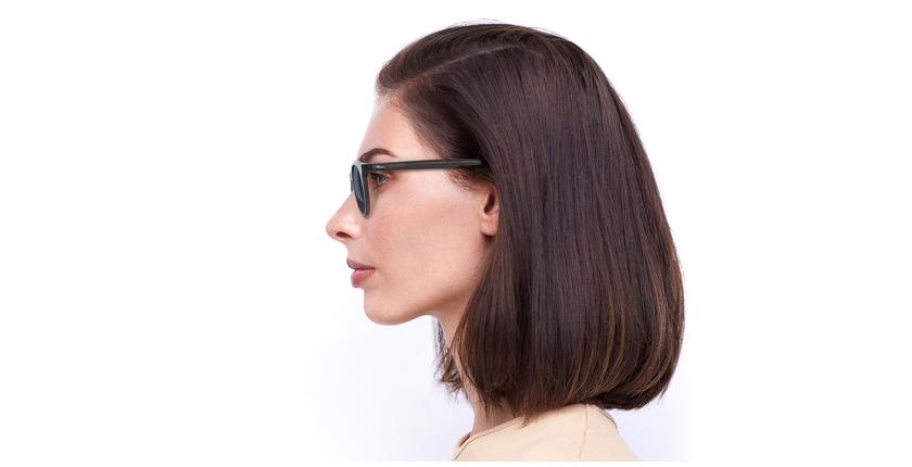 Óculos de sol DORIAN GY cinzento - Vista lateral