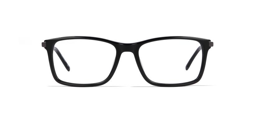 Lunettes de vue homme LOUVRE noir - Vue de face