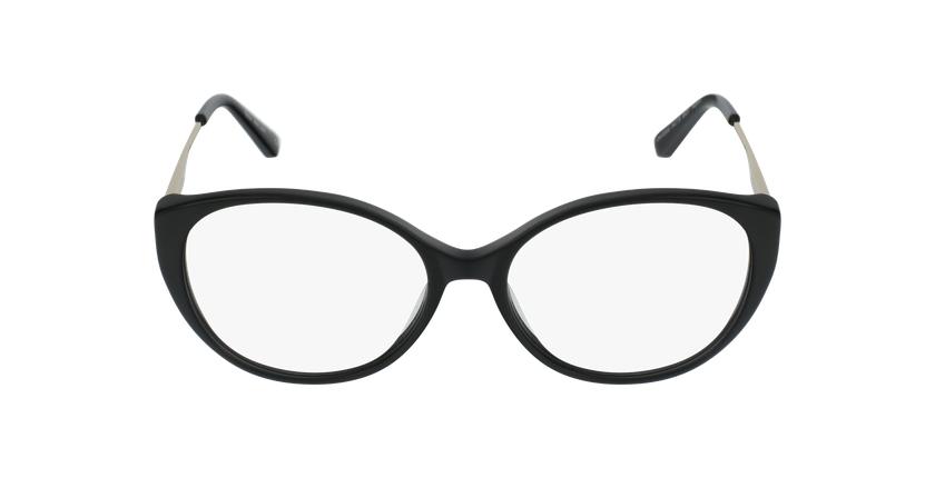 Lunettes de vue femme LIVIA noir - Vue de face