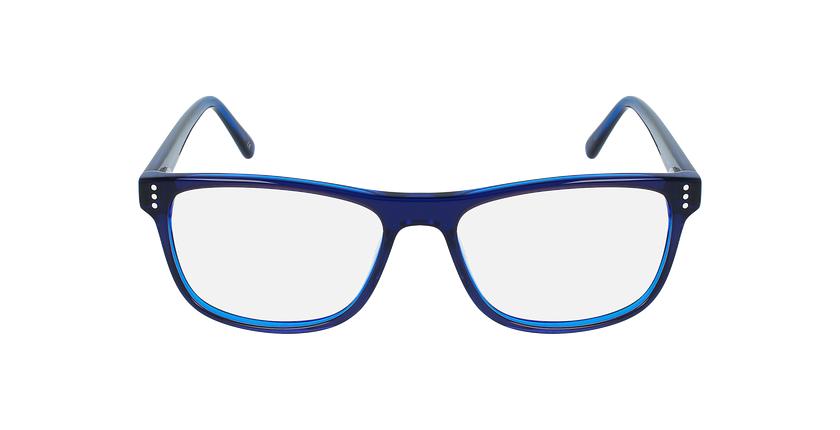 Óculos graduados homem HECTOR BL (TCHIN-TCHIN +1€) azul - Vista de frente