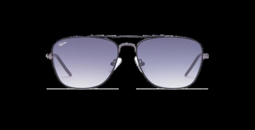Gafas de sol hombre BRENTWOOD negro - vista de frente