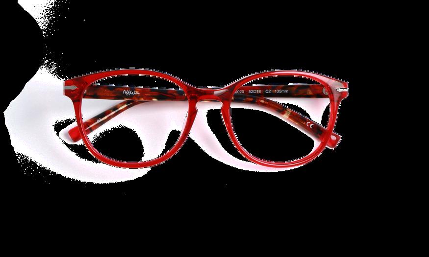 Lunettes de vue femme WHITEHAVEN rouge