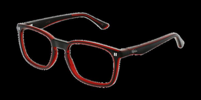 Óculos graduados criança REFORM TEENAGER (J2BKRD) preto/vermelho