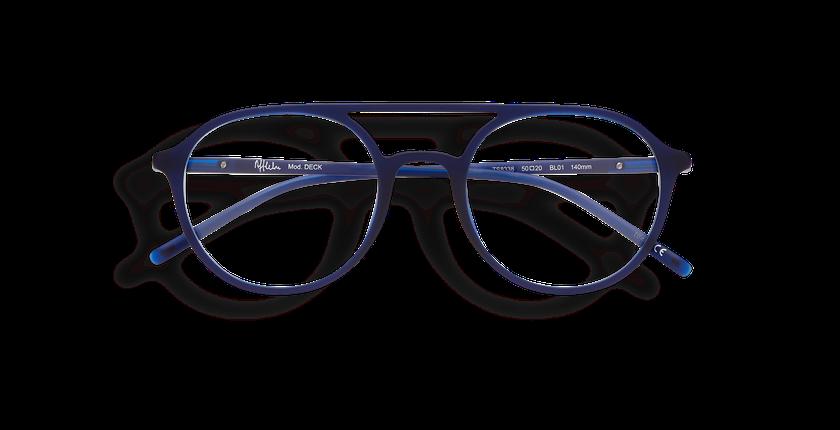 ... Óculos graduados homem LIGHT TONIC DECK azul - Vista de frente ... 69c47edd03