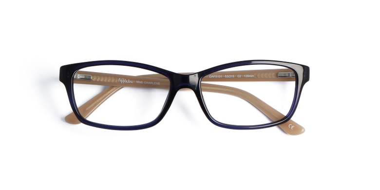 Gafas graduadas mujer CHARLENE azul