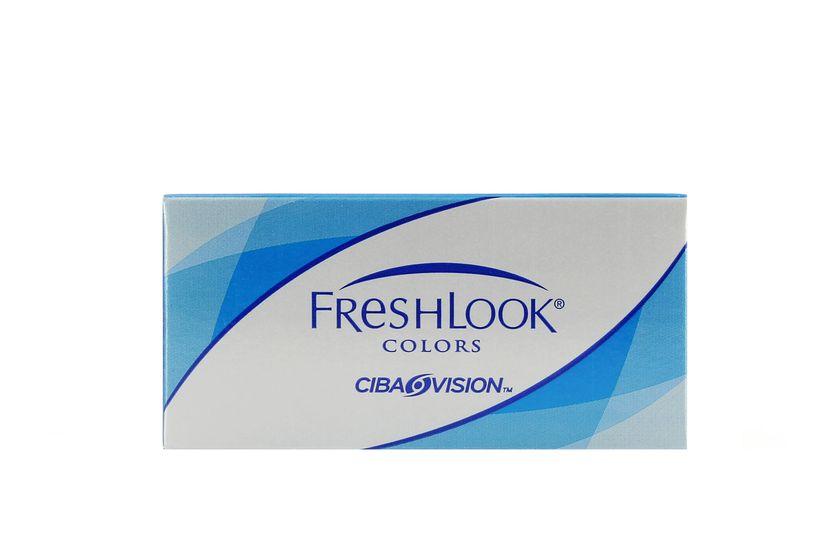 Lentilles de contact FreshLook Colors Gray 2L - vue de face