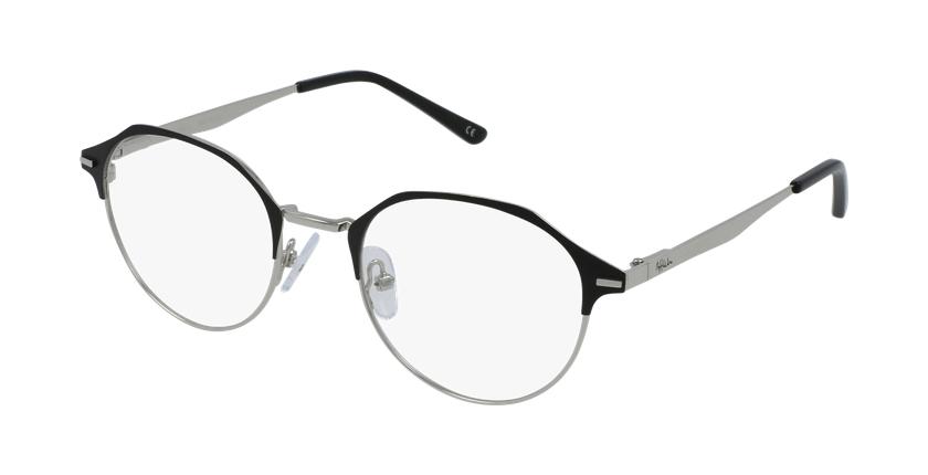 Lunettes de vue femme OAF20524 noir/argenté - vue de 3/4