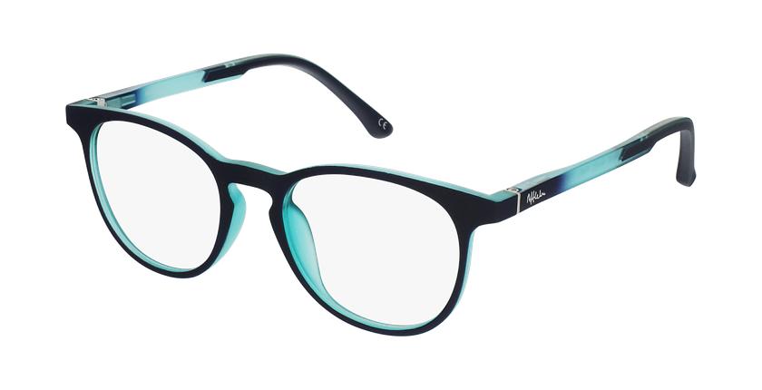 Óculos graduados criança MAGIC 78 PU - ECO FRIENDLY violeta/turquesa - vue de 3/4