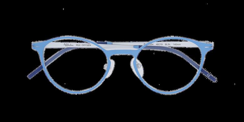 Gafas graduadas mujer OXYGEN azul/plateado