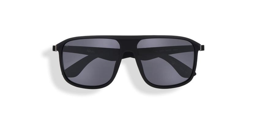 Óculos de sol homem LANCIANO POLARIZED preto - Vista de frente