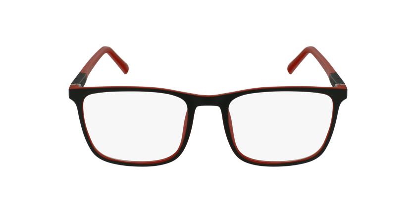 Óculos graduados homem MALO BK (TCHIN-TCHIN +1€) preto/vermelho - Vista de frente