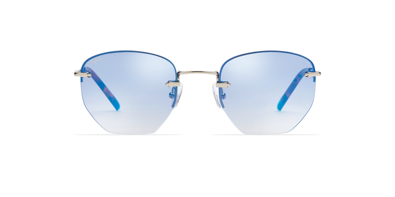 Óculos de sol senhora JENNA BL prateado/azul