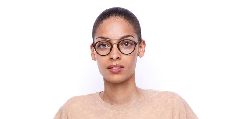 Óculos graduados ROSSINI RD vermelho