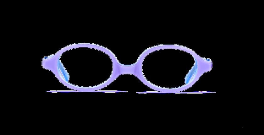 Gafas graduadas niños ELSA morado - vista de frente