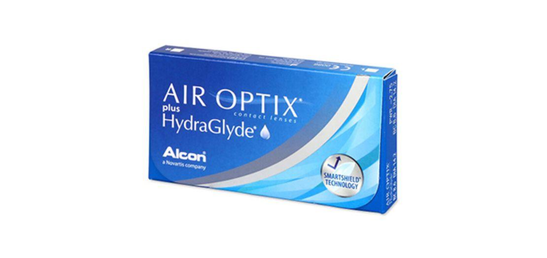 Lentes de contacto Air Optix Plus HydraGlyde® 6L