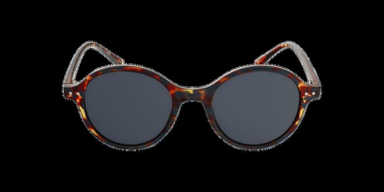 Lunettes de soleil femme BENISA écaille/marron