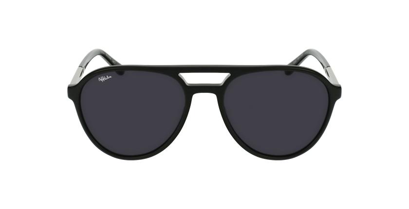 Óculos de sol homem JONAS BK preto - Vista de frente