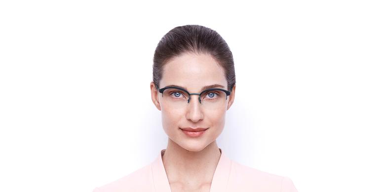 Óculos graduados senhora STRAUSS BL tartaruga/azul