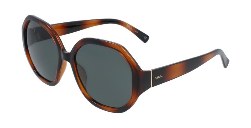 Óculos de sol senhora AURORA TO01 tartaruga  - vue de 3/4