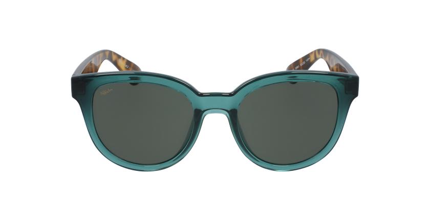 Óculos de sol senhora LUZ GR verde/tartaruga - Vista de frente