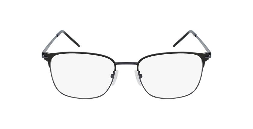 Lunettes de vue homme URANUS noir/gris - Vue de face