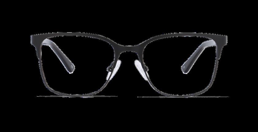 Lunettes de vue femme DORIS noir - Vue de face