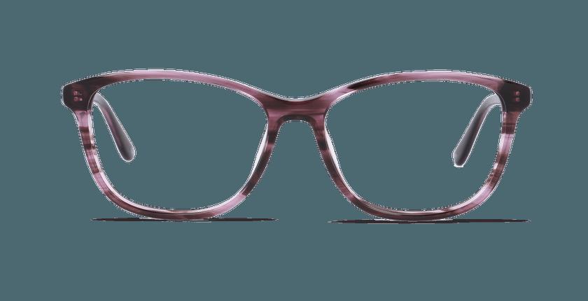 Gafas graduadas mujer DAFNE morado - vista de frente