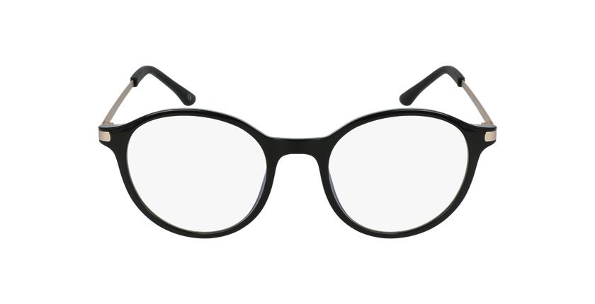 Óculos graduados senhora MAGIC 37 BK BLUEBLOCK - BLOQUEIO LUZ AZUL preto - Vista de frente