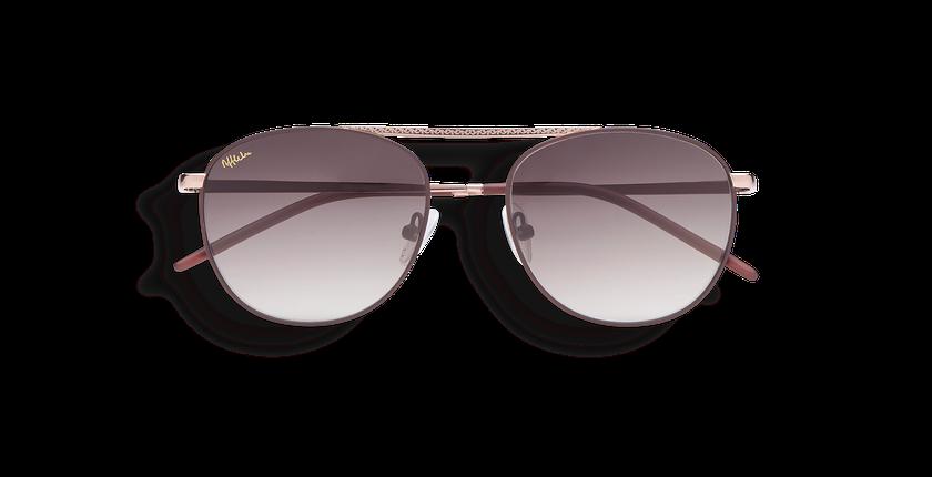 Gafas de sol BEL-AIR dorado - vista de frente